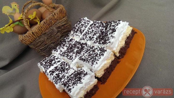 Tejszínhabos-túrós kocka recept, ha egy finom túrós desszertre vágysz