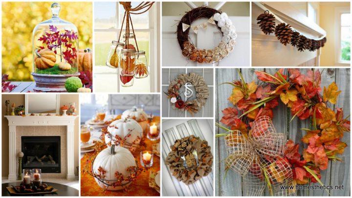 Így csempészd be az őszi hangulatot a családi fészekbe, egyszerű dekorációkkal