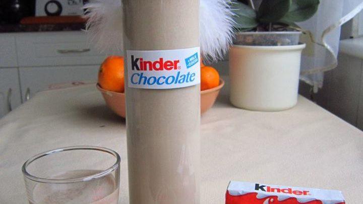 A legmennyeibb likőr Kinder csokiból! Nálunk mindenki imádja