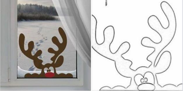 Te is szeretnél kukucskáló rénszarvast az ablakodba? Mutatjuk lépésről lépésre, hogyan készül