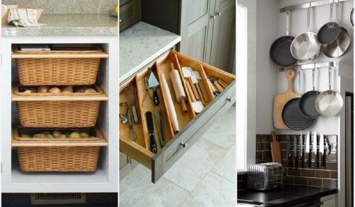 Aprócska  a konyhád? 20 ötlet, hogy mindennek helye legyen, a legkisebb konyhában is!