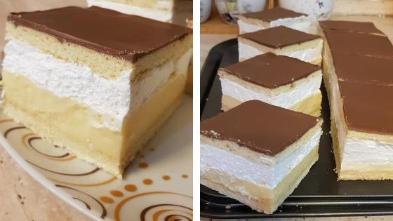 Mézes francia krémes: Ez az egyik kedvenc desszertünk!