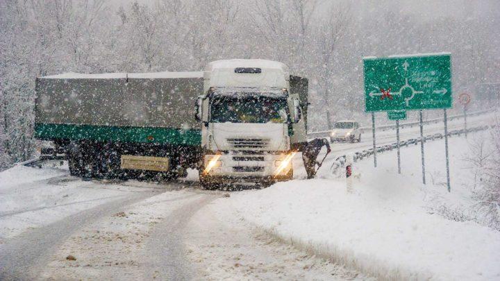 Megint jön a havazás: Mutatjuk hol várható a legtöbb hó