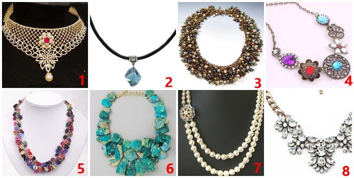 A 8 nyakláncból melyiket hordanád legszívesebben? PRÓBÁLD KI ÖNMAGAD!
