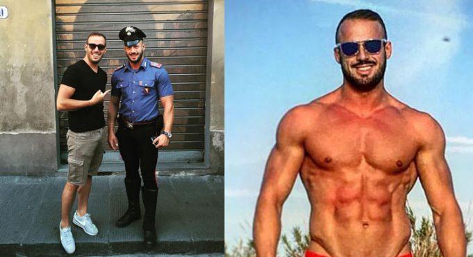 A legjobbképű olasz rendőr: the most handsome cop Italy