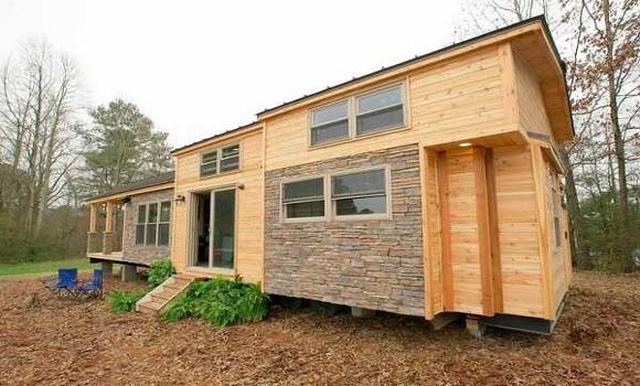 Ez a ház csak 37 négyzetméter, de mégis csodásan fest belülről!