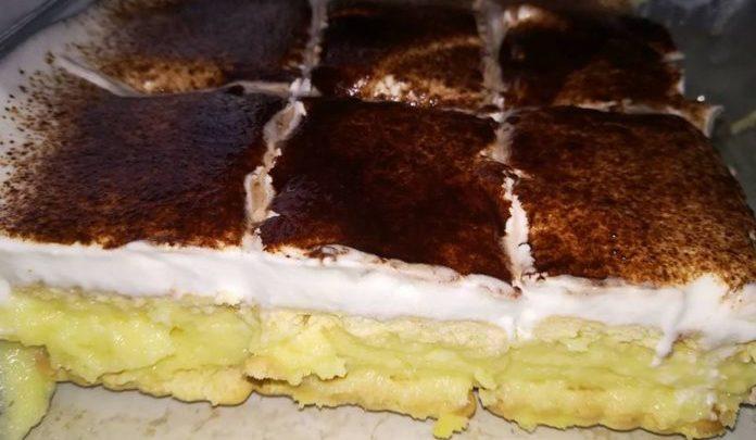Hihetetlenül egyszerű, gyors és finom Kekszes Krémes, sütni sem kell!