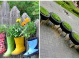 24 tavaszváró tipp – ettől kreatív ötletek nem is találsz a kerted dekorálásához