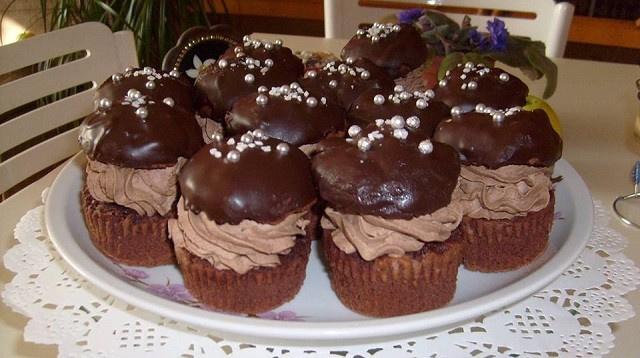Rigó Jancsi muffin, ha imádod a hagyományos süteményt, a muffin változatára se tudsz nemet mondani
